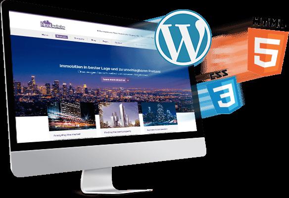 WordPress Design und Responsive Programmierung in verbindung mit modernsten Webstandards